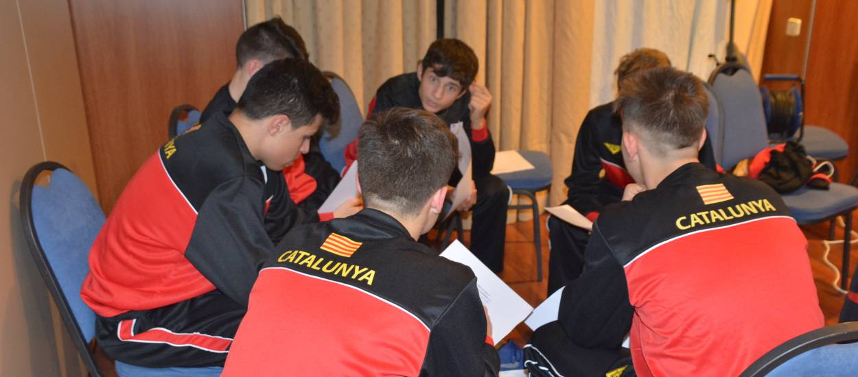 Convivències de les seleccions catalanes de futbol sala