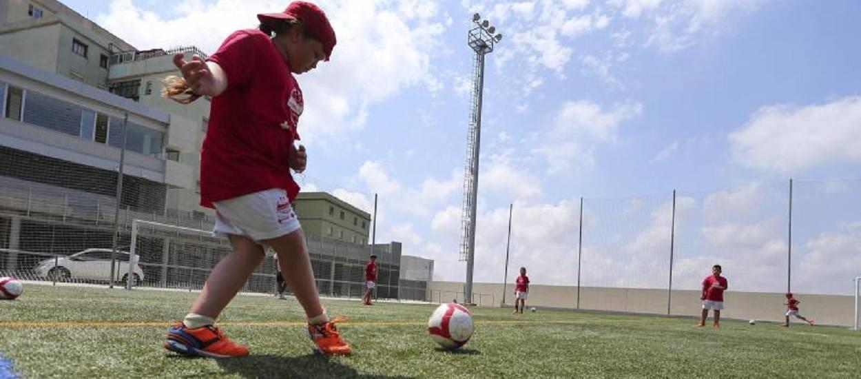 Finalitza el Campus de Futbol Solidari Behappy